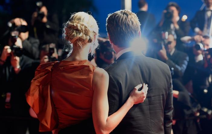 couple au festival de Cannes