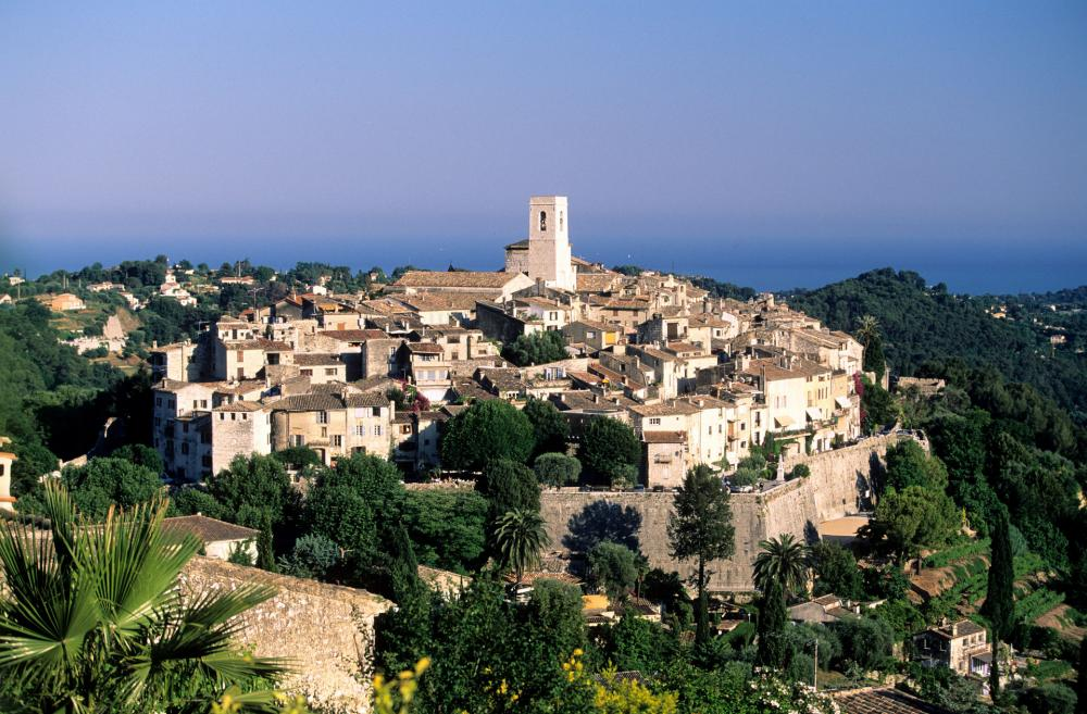Saint-Paul de vence, vue sur la Côte d'Azur